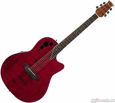 Ovation Applause Elite Acoustic Electric Guitar - Ruby Red