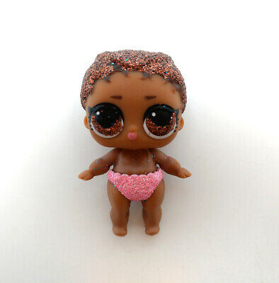 LOL Surprise Series Doll LIL AGENT 00L Ultra-Rare S-008 Glitter Toy Color Change
