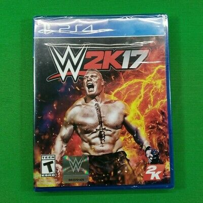 PS4 WWE W2K17 Wrestling 2017 Video Game - BRAND NEW Free & Fast Shipping!