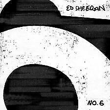 ED SHEERAN No.6 COLLABORATIONS PROJECT - CD - NEW - (Released JULY 12th 2019)