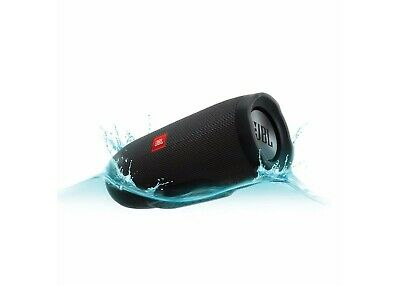 JBL Charge 3 - Waterproof IPX7 Portable Bluetooth Speaker - By Harman - Black