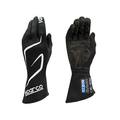 Sparco Race Gloves LAND RG-3.1 black (with FIA homologation) size 9 NEW