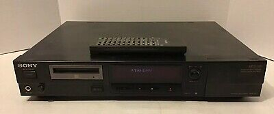 SONY MDS-501 Mini Disc Player with Remote Excellent Condition Works