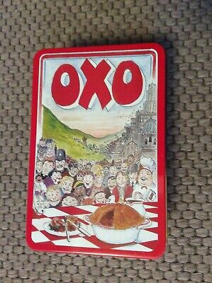 Vintage *OXO TIN* 1992 Designed By Martin Sanders 48 Cubes.2 empty boxes inside