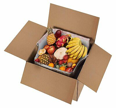5 Pack Foil Insulated Liners 10 x 10 x 10. Thermal Liners for Boxes. Box Liners
