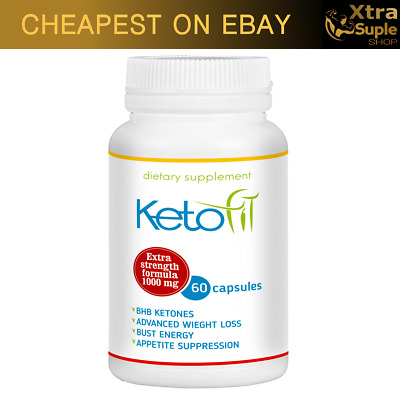 KETO Fit Advanced Weight Loss 60 Caps Ketosis Keto Diet Fat Burn & Carb Purefit