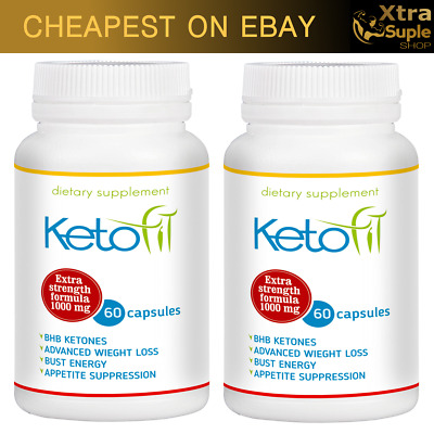 2x KETO Fit Advanced Weight Loss 60 Cap Ketosis Keto Diet Fat Burn Carb Purefit