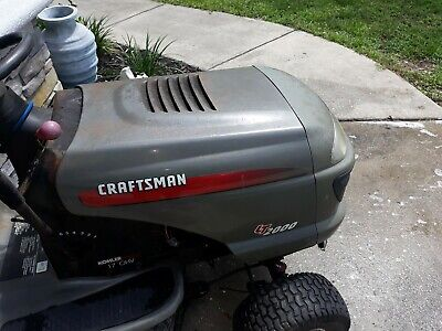 NEW CRAFTSMAN RIDING lawn mower nose grill LT1000 with wire