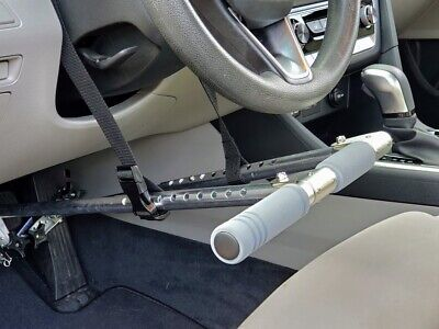 Portable car Hand Controls-Driving Aids, Automatic Cars. Disability/Handicapped