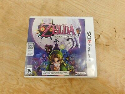 The Legend of Zelda: Majora's Mask 3D (Nintendo 3DS, 2015) Complete