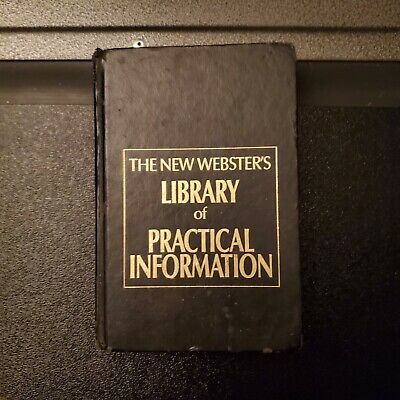 The New Webster's Library of Practical Information 1990 Hardcover