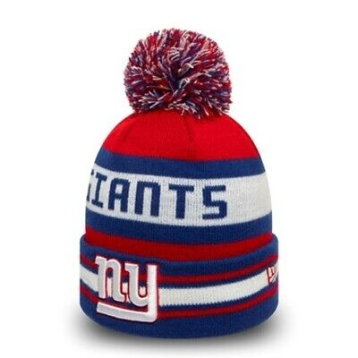 New York NY Giants Jake New Era Bobble Cuff Knit | New w/Tags |Top Quality Brand