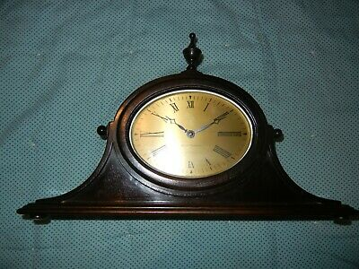 "Antique 4 Jewels  Seth Thomas Mantle Shelf Clock 14"" by 81/4"" Working"