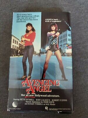 Avenging Angel 1985 Betamax Beta