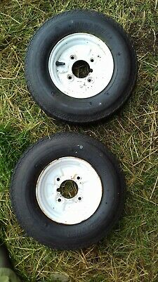 Trailer Wheel 8″ x 2.50A  with 4 stud 115mm PCD + New Tyre