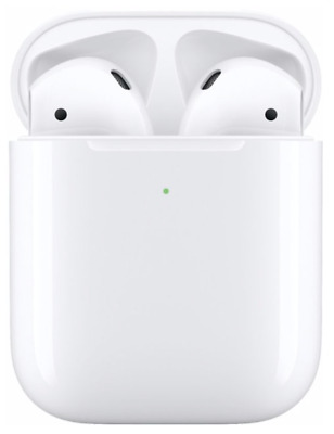 Apple AirPods 2nd Gen Earbuds And Wireless Charging Case (Latest Model)