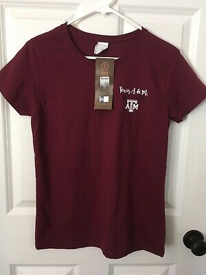 University of Texas A&M Aggies ATM Womens  T-Shirt size M