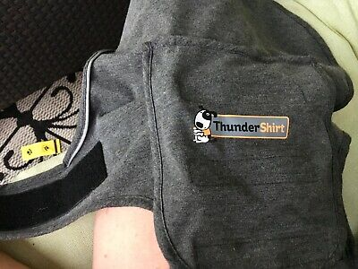 Thundershirt For Dogs Solid Gray size Small Anxiety Calming