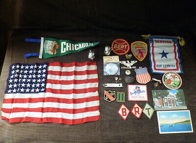 ~ Junk DRAWER CONTENTS ~ GOD, GUNS & COUNTRY ~ vintage lot ~ Have a LOOK!