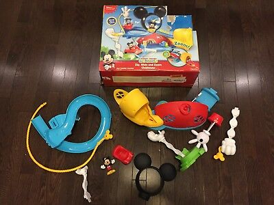 Disney Junior Fisher Price Mickey Mouse Clubhouse Zip Slide & Zoom Clubhouse