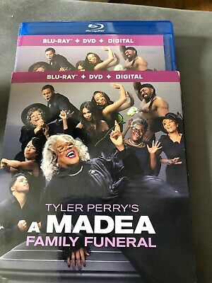 Tyler Perry's A Madea Family Funeral (Blu-ray and DVD, 2019) - No Digital