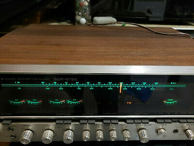 Vintage Sony Sqr-8750 4 Channel Receiver