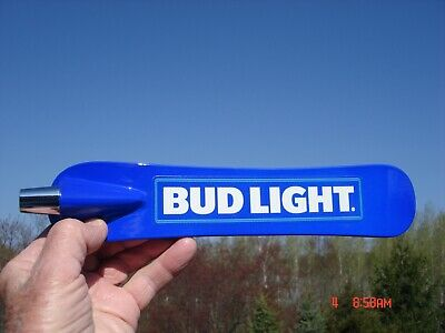 New Never Used Beer Tap Handle Bud Light Snowboard Anheuser Busch Brewery Nice!!