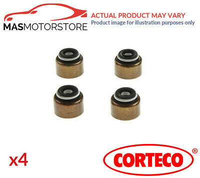 4x 19025700 CORTECO VALVE STEM SEAL SET G NEW OE REPLACEMENT