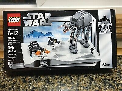 LEGO 40333 Star Wars Battle of Hoth 20th Anniversary Edition 195pcs New Sealed