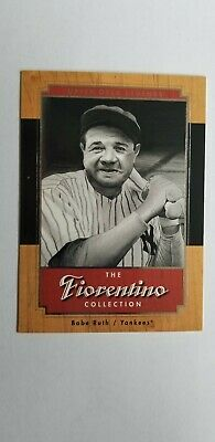2001 UD Baseball Legends Babe Ruth Fiorentino Collection F1