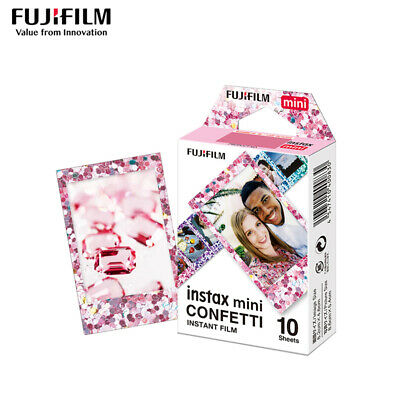 10 Sheets Fujifilm Fuji Instax Paper Confetti Film For Mini 8 7 9 50s 7s 90 SP-1