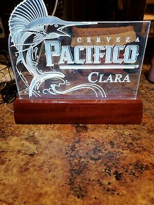 Cerveza pacifico Clara Neon tech lighted  beer Sign