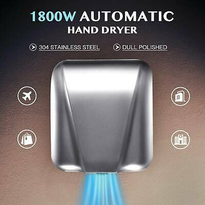 High Speed Electric Hand Dryer Machine for Commercial Home Bathroom Touchless