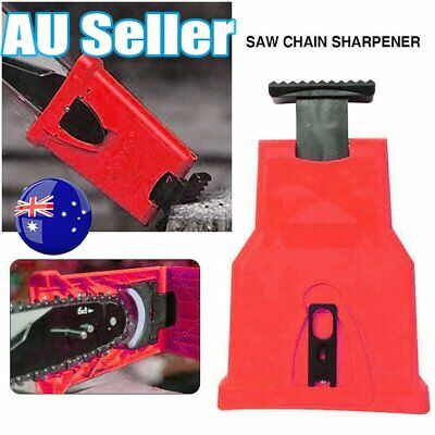NEW Woodworking Chainsaw Tool Teeth Sharpener Self Sharpening Grinding Chain #T