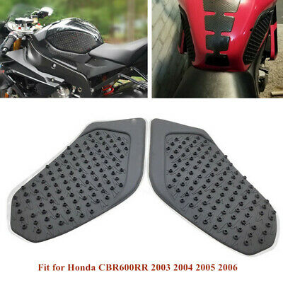 Fit For Honda Cbr600rr 03 06 Tank Traction Pad Side Gas Fuel Knee