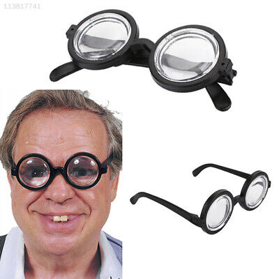 03AD Circular Bookish Glasses Dress Up Glasses Halloween Cosplay Toys Christmas
