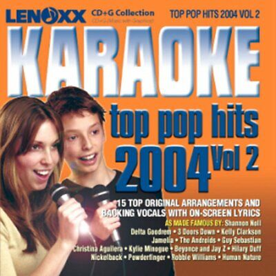 Karaoke CD Disc Compact CD G Discs 2000s Pop Hits Party Hit Songs Set 00s 2000's