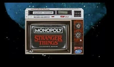 Monopoly Stranger Things Collectors Edition Board Game In Hand **SOLD OUT**