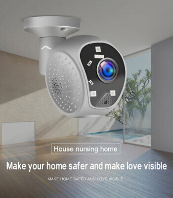1080P HD IP CCTV Panoramic Camera Waterproof Outdoor WiFi Security Wireless Cam