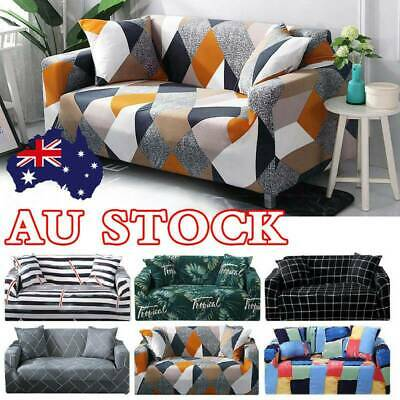 Super Stretch Sofa Cover Couch Lounge Protector Slipcovers 1/2/3 Seater Covers