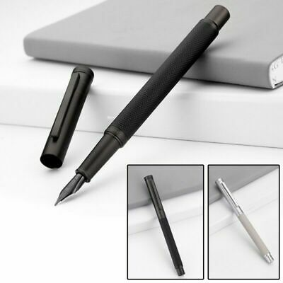 HongDian Writing Fountain Pen With F Black Nib Converter Pen Smooth Calligraphy