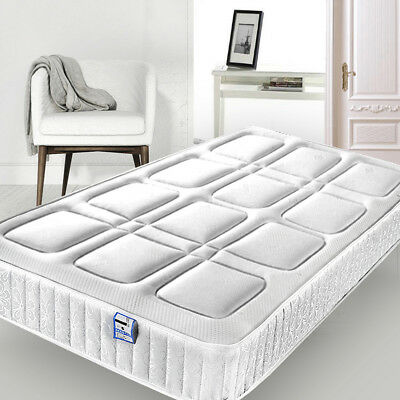 Memory Foam Spring Mattress Quilted Fabric Small Single Double King Size NO.06