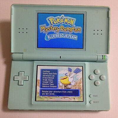 Nintendo DS Lite Console Only Ice Blue Work for repair from JAPAN F/S