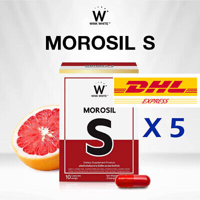 MOROSIL S Wink White Red Pill New Innovative Weight Loss Reduce Fat Burn slim