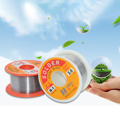 100g Tin Lead Rosin Core Solder Wire DIY For Electrical Solderding 0.5-1.5mm Lot