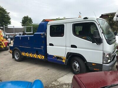 2005 Mitsubishi Canter 75 Breakdown Recovery Truck With Specs 7c 14d