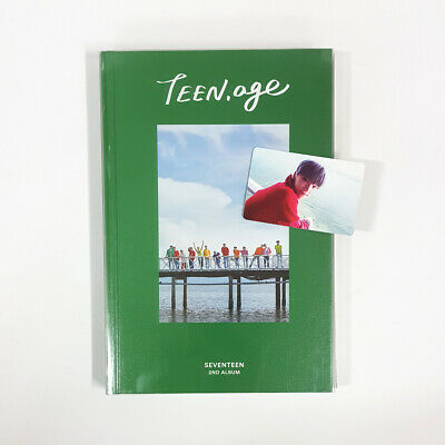 Seventeen TEEN, AGE Green Ver CD+Photobook+sticker+Lyrics Paper+Dino Photocard