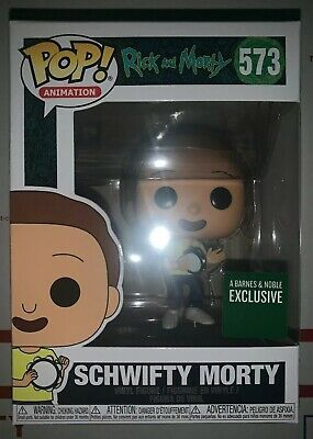 "Funko POP! RICK & MORTY #573 ""SCHWIFTY MORTY"" Barnes & Noble Exclusive - IN HAND"