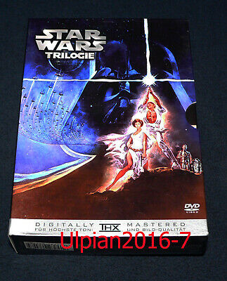 Star Wars - Episode IV bis VI - Trilogie - 3 DVDs -