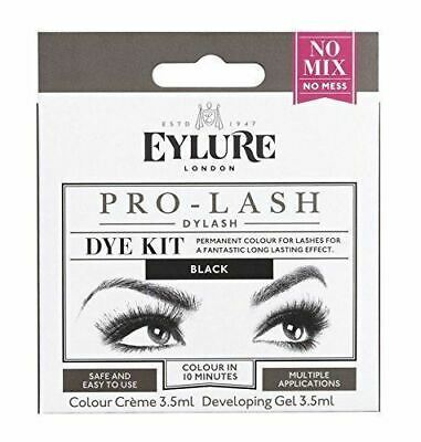 Eylure Dylash Black Dye Kit Permanant Colour LAsh Tint